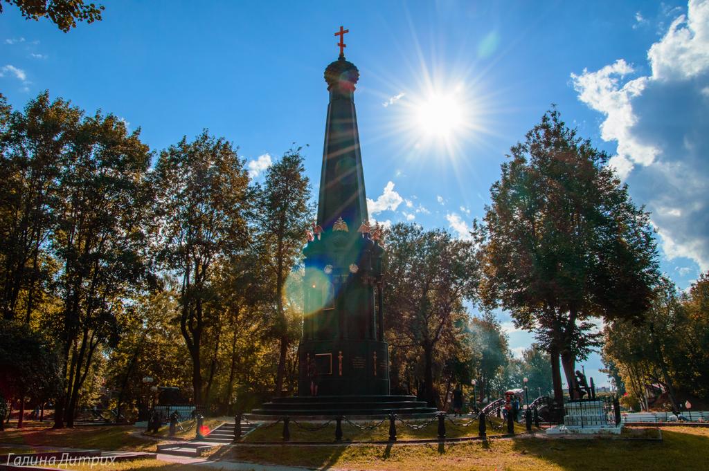Церковь в парке Смоленска фото