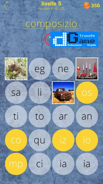 650 Parole soluzione livello 5 (1 - 25) | Parola e foto