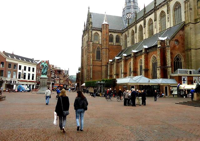 Grote Markt O que visitar na Holanda Haarlem