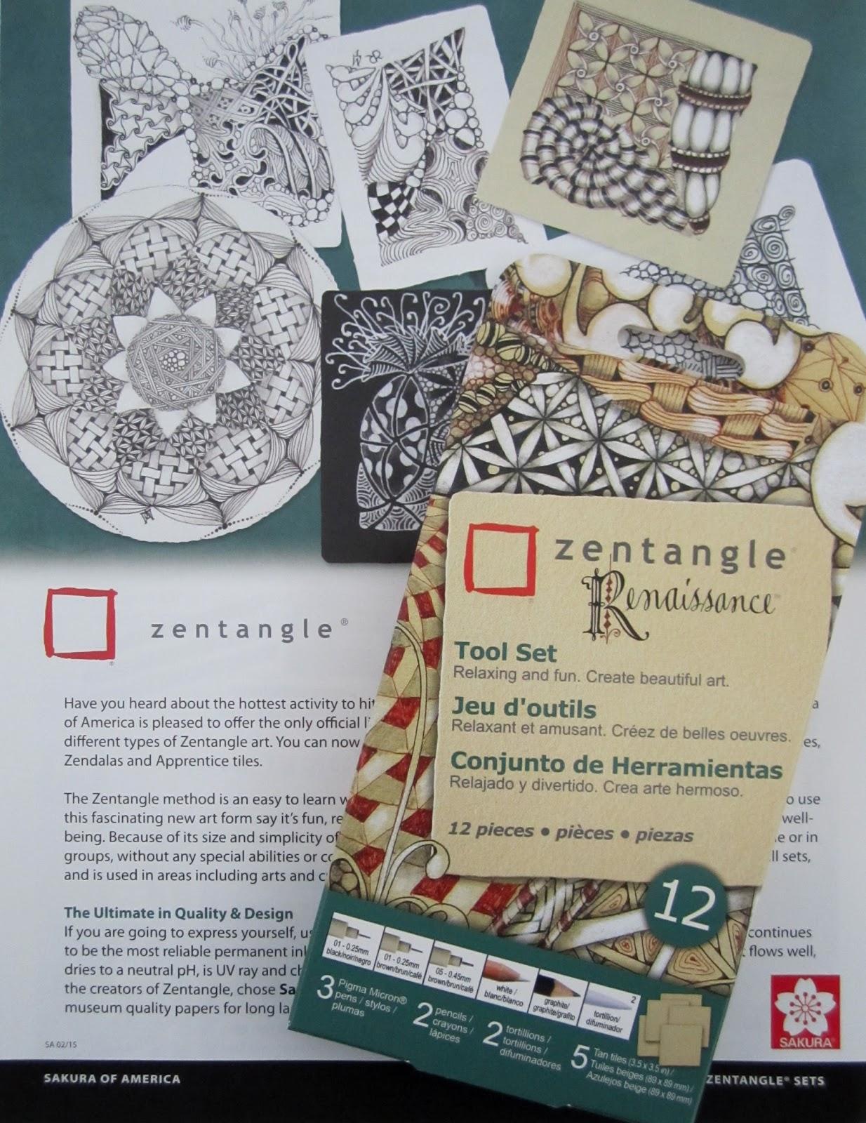Official Zentangle Patterns Custom Inspiration Ideas