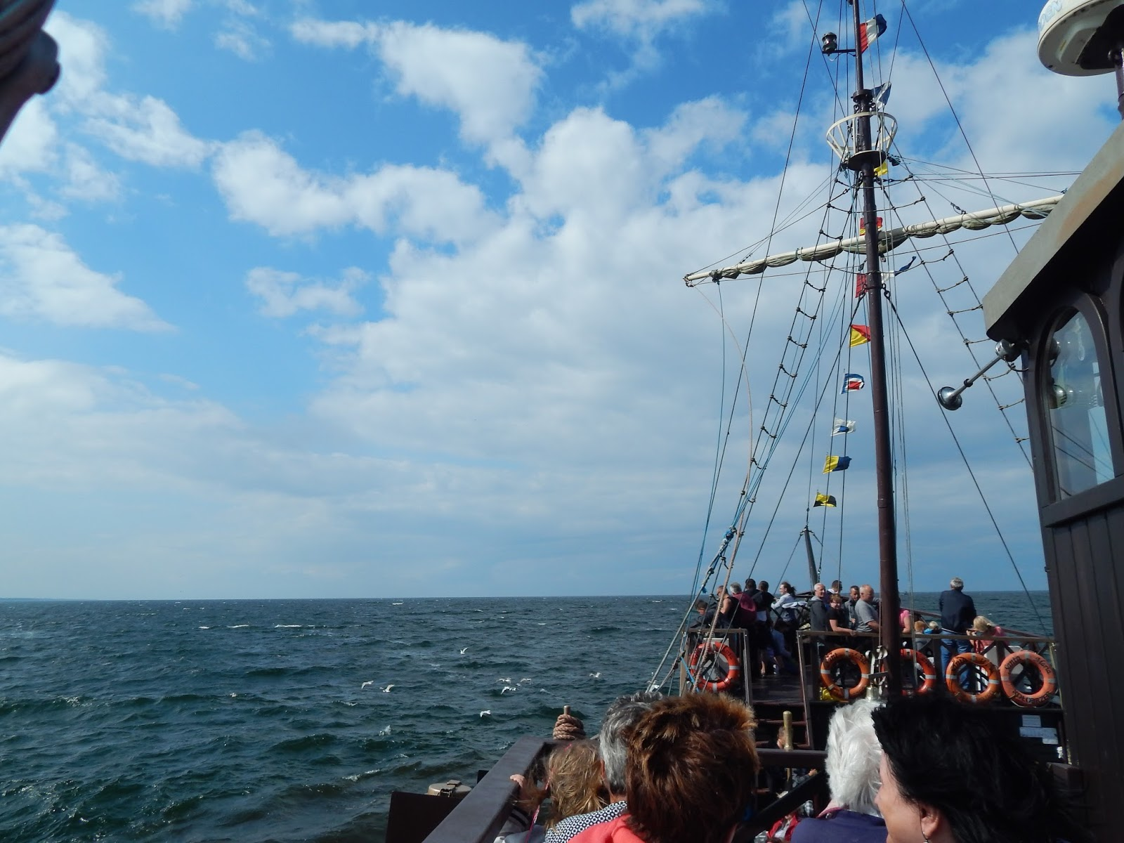 výletní plavba Baltské moře