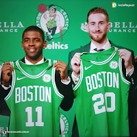 Kyrie Irving and Gordon Hayward Introduced at Boston