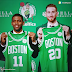 Kyrie Irving and Gordon Hayward Introduced at Boston, Kyrie Looks Different