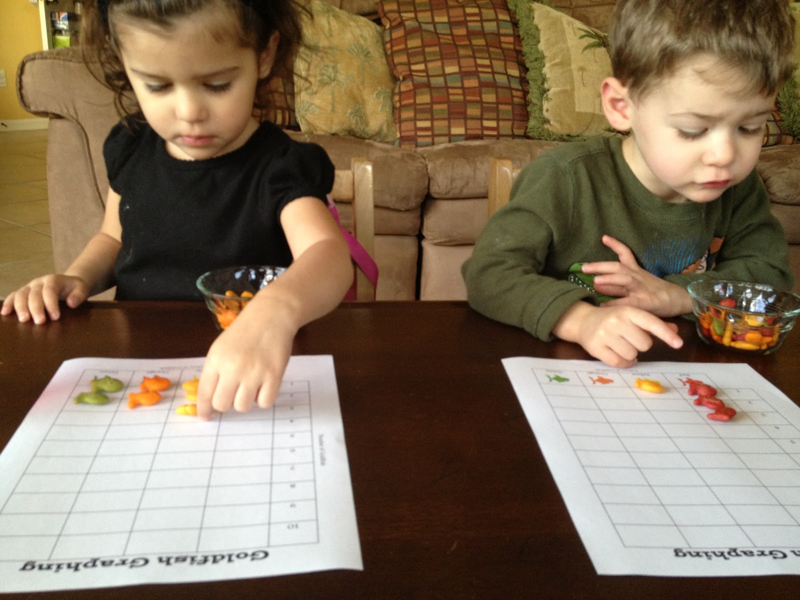 Two Much Fun Dr Seuss Week One Fish Two Fish Graphing