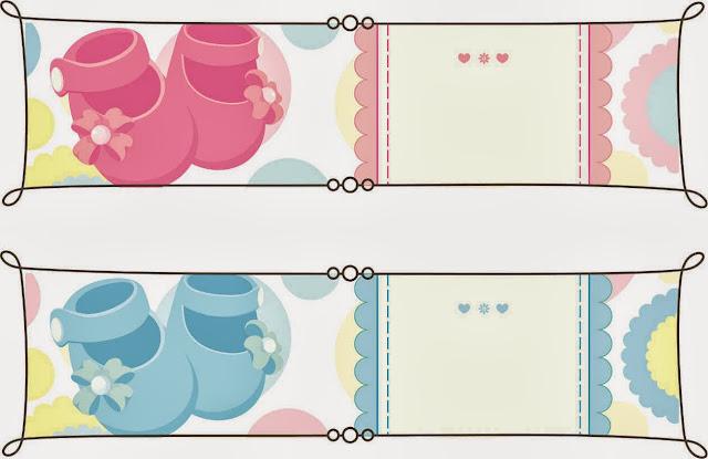 Baby Shower: tarjetas, imprimibles y etiquetas para imprimir gratis ...