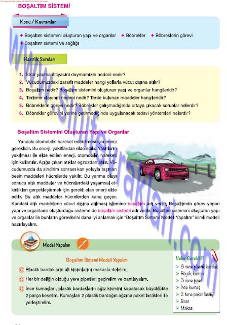 7. Sınıf Fen Bilimleri Ders Kitabı Cevapları Mevsim Yayınları Sayfa 24