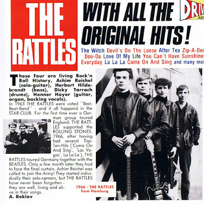 The Rattles-With All the Original Hits!(1966-68)