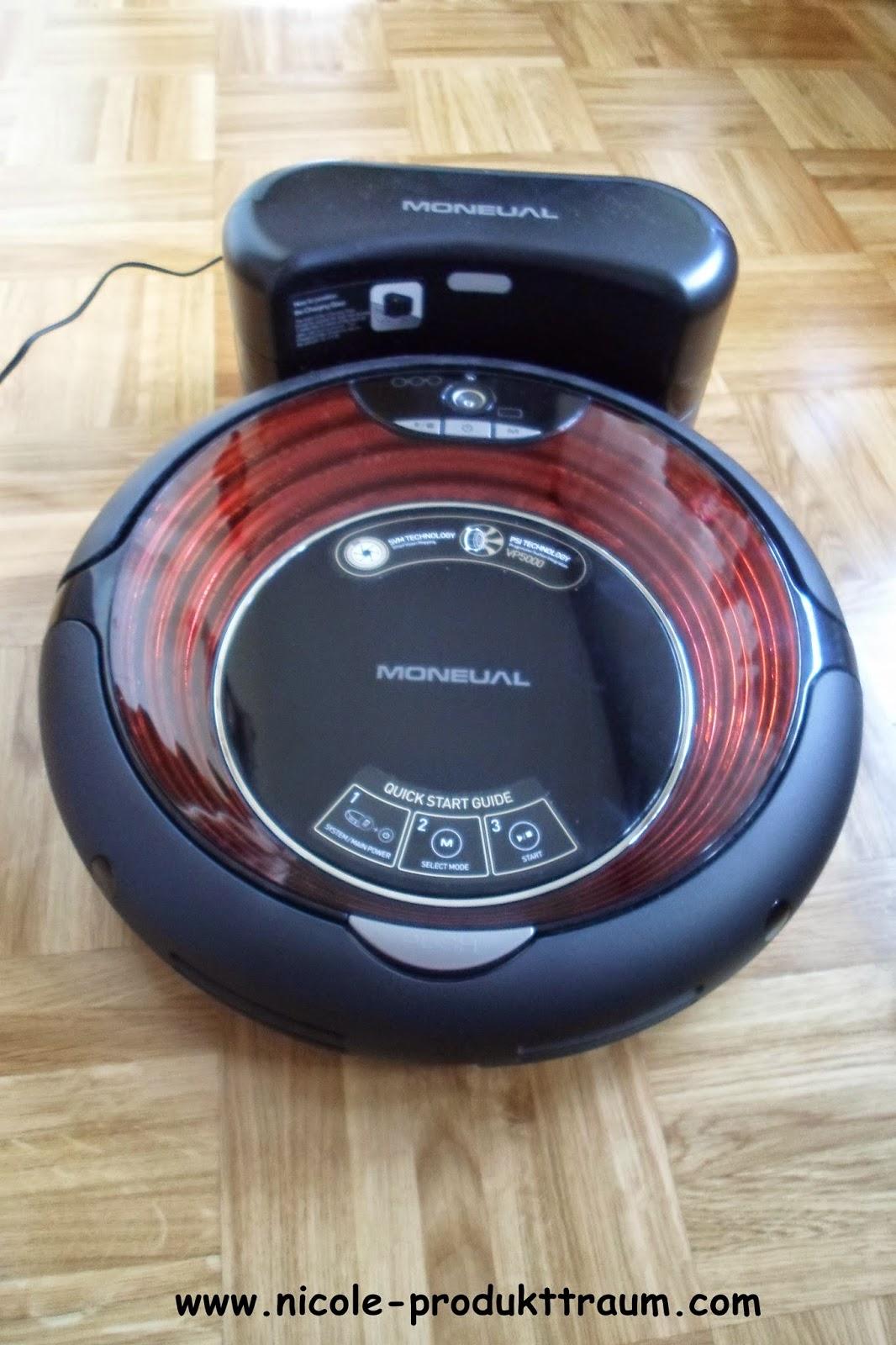 produkttraum moneual me770 saug und wischroboter von myrobotcenter. Black Bedroom Furniture Sets. Home Design Ideas