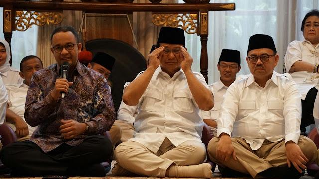Kelakar Prabowo: Gue yang Untung Anies dan Sudirman Said Direshuffle
