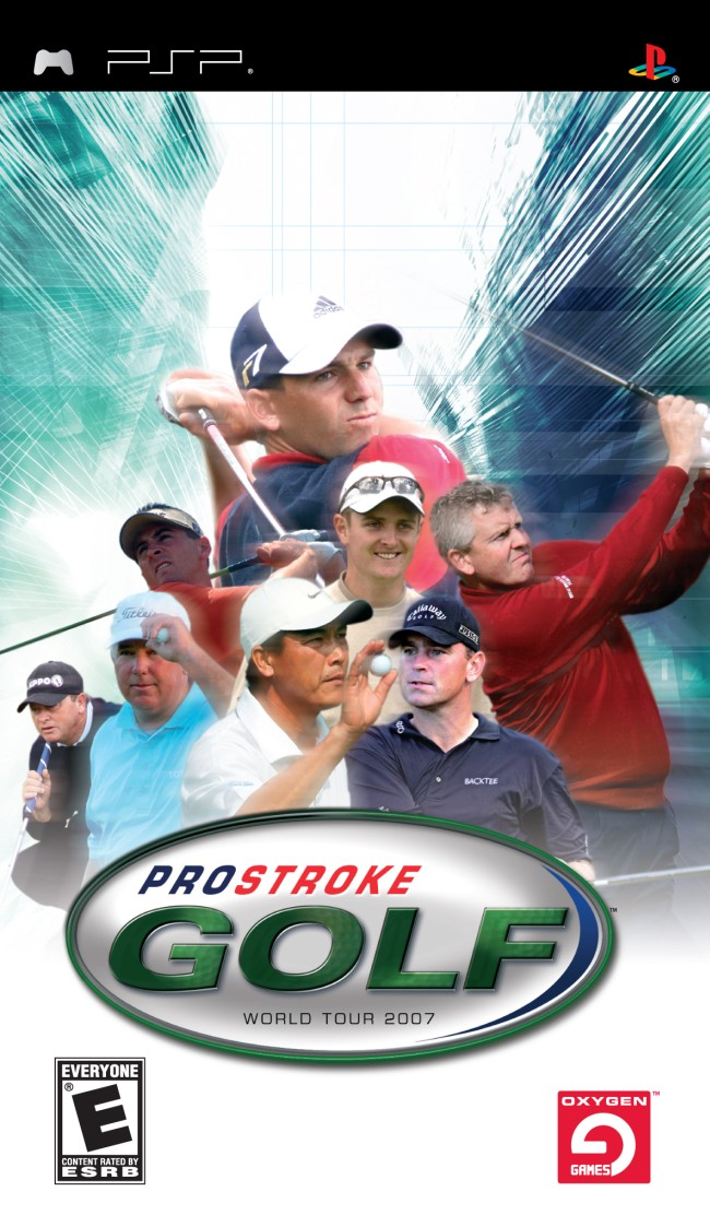 Pro Stroke Golf - World Tour 2007 - PSP - ISO Download