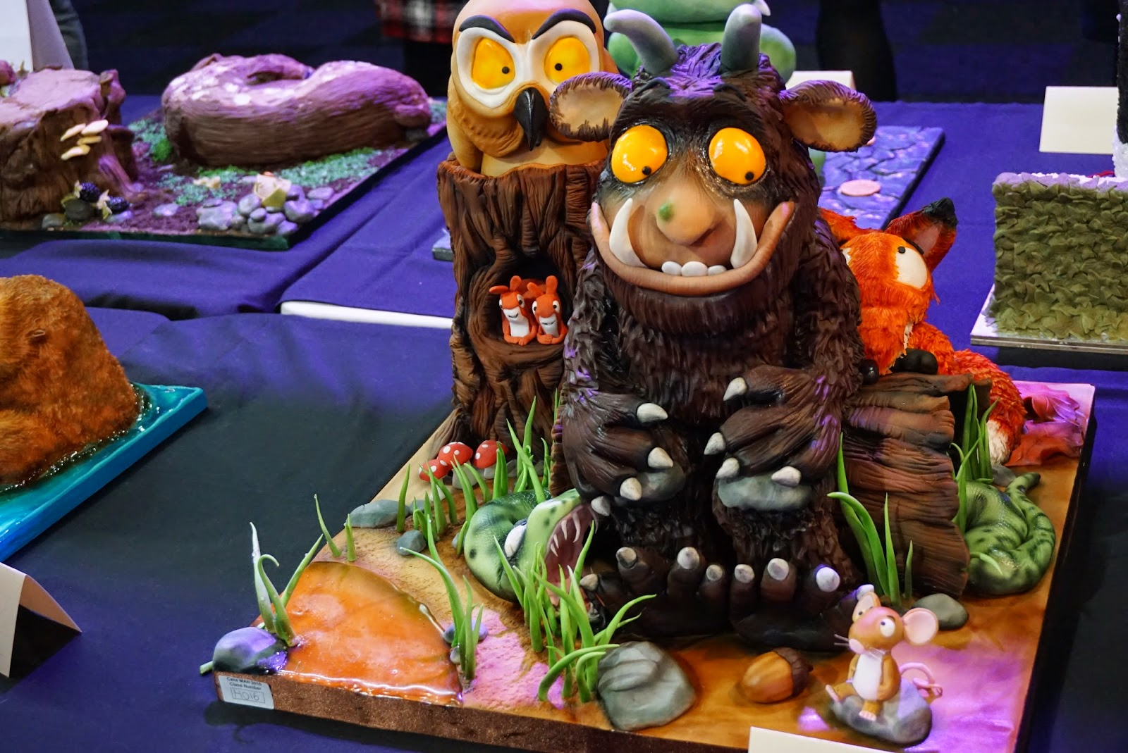 Cake International Show Manchester 2015 Gruffalo Cake