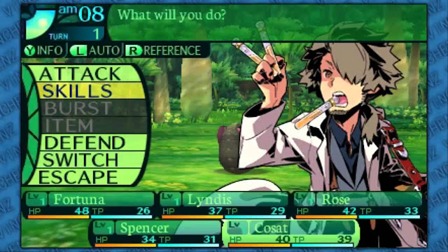 Etrian Odyssey IV: Legends of the Titan screenshot 3
