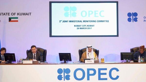 Países productores de petróleo deciden mantener recorte de producción por 9 meses