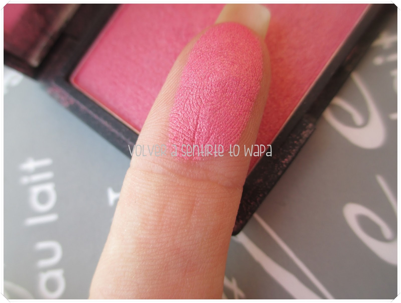 Colorete Mirrored Pink de Sleek