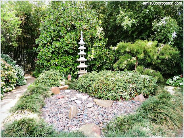 Lagos Secos y Pagoda del Jardín Japonés de Fort Worth
