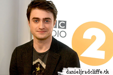 Daniel Radcliffe on BBC Radio 2's Arts Show with Claudia Winkleman