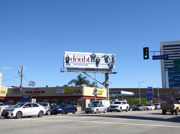 Doubt series launch billboard