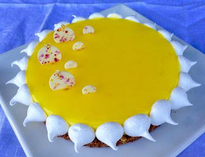 IMG 2823 - Tarte soleil: citron meringuée
