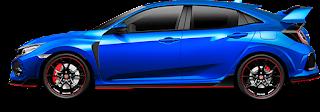 warna biru civic type r
