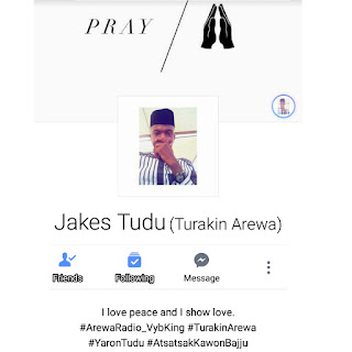 [GIST] Facebook Comes After O.A.P Jakes Tudu After Posting This On Social Media