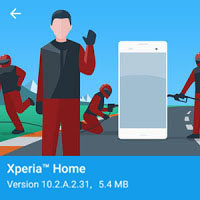 Xperia Home Updated to 10 2 A 2 31beta - Icon Size reintroduced