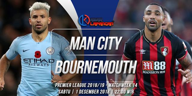Prediksi Bola Manchester City vs Bournemouth Liga Inggris