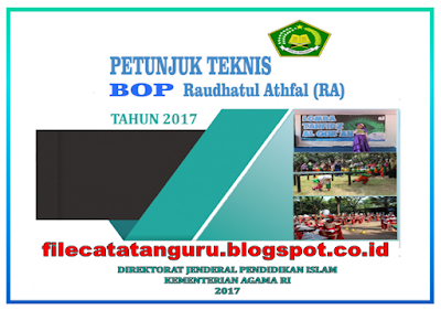 Download Petunjuk teknis Bantuan Operasional Pendidikan Raudlatul Adfal ( BOP RA) Tahun 2017
