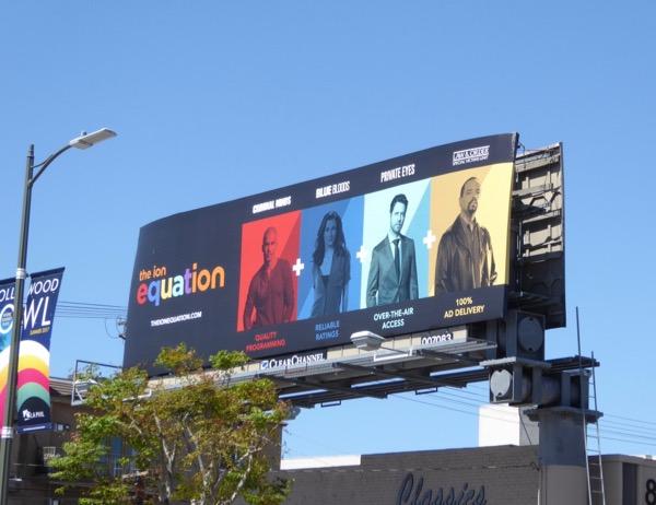 Ion Equation billboard