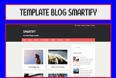 Smartify Blogger Template Free Download