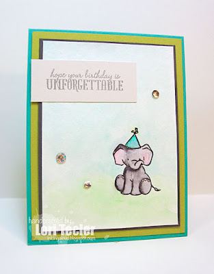 Unforgettable Birthday card-designed by Lori Tecler/Inking Aloud-stamps from WPlus9