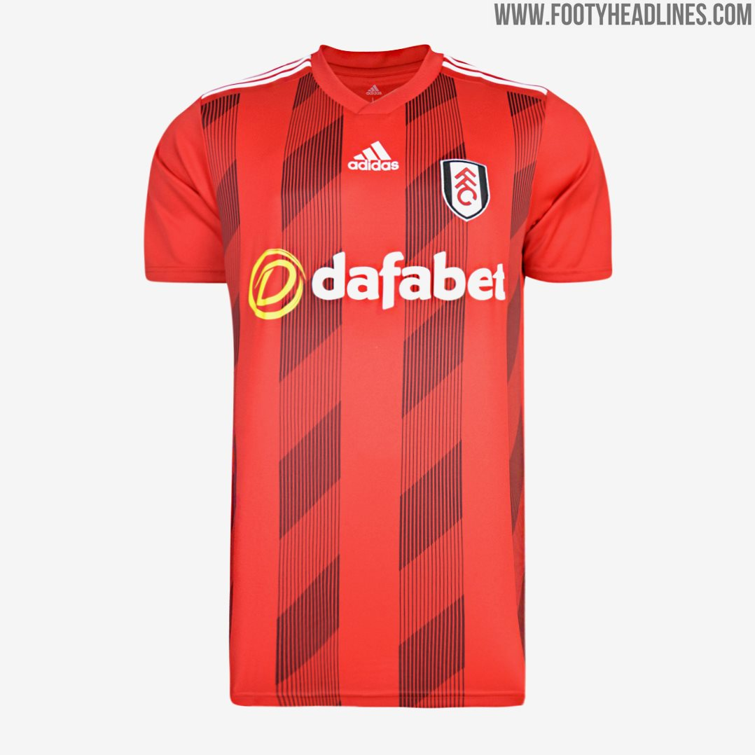 Fulham 20-21 Home & Away Kits Released - Premier League Home Kits ...