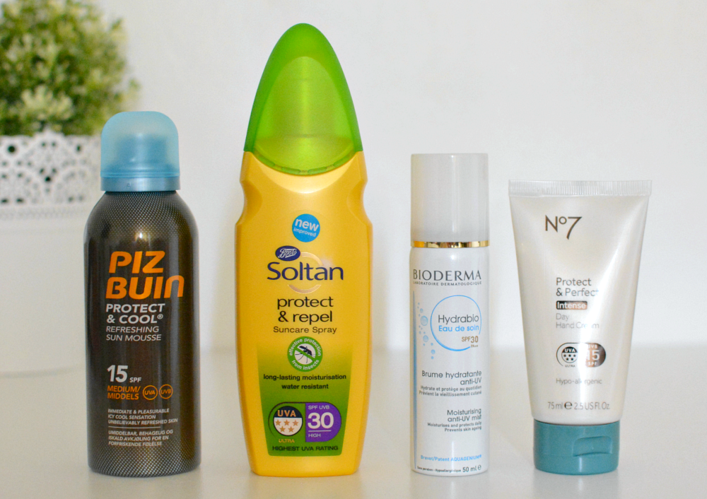 Four new sunscreens for 2016, Piz Buin, Soltan, Bioderma, Boots No 7