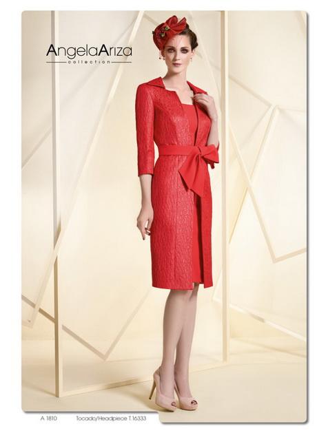 Vestido de boda rojo