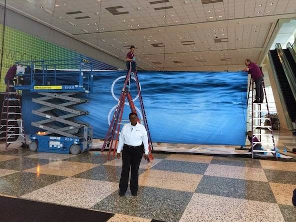 iOS 8 Banner Goes Up At Moscone Center Ahead of WWDC