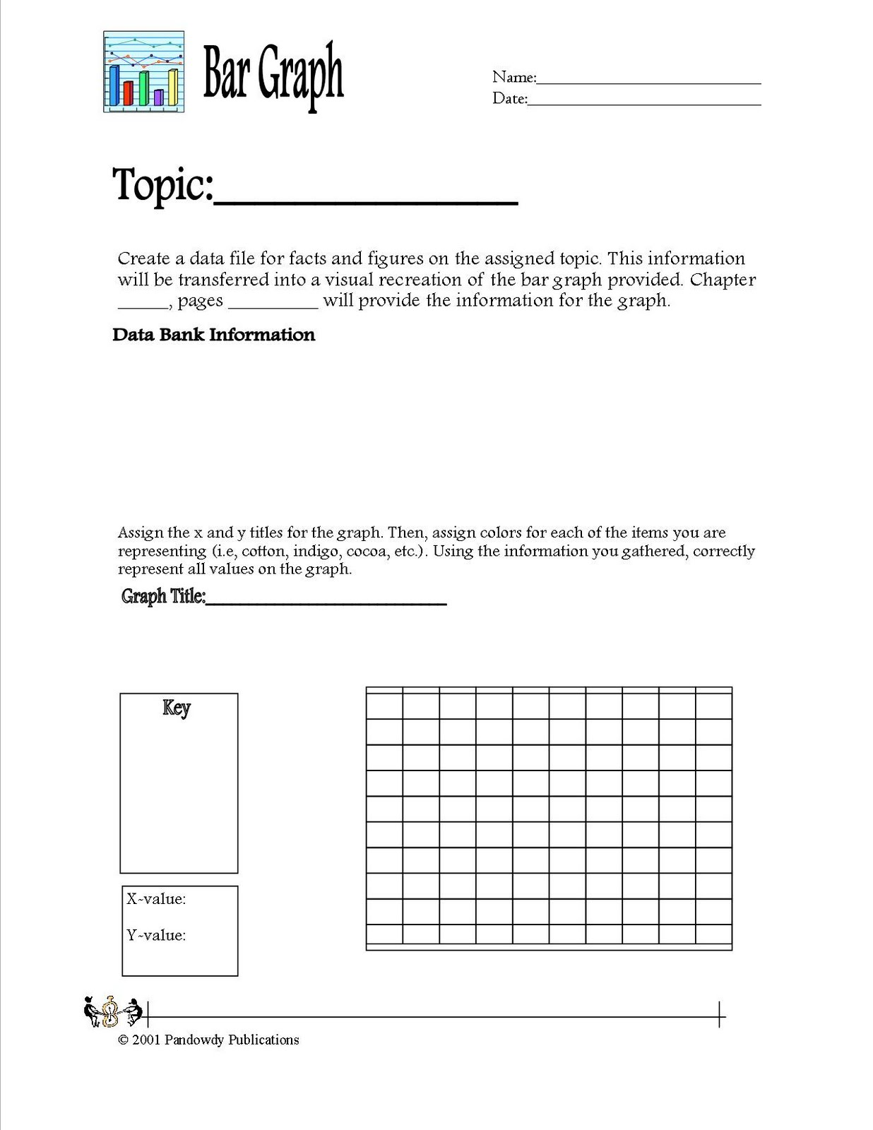 Pandowdy Publications Bar Graph Worksheet