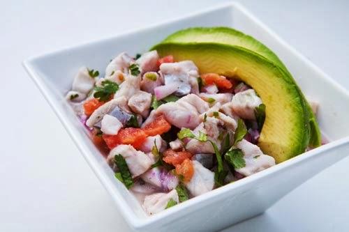 peru yemeği Ceviche