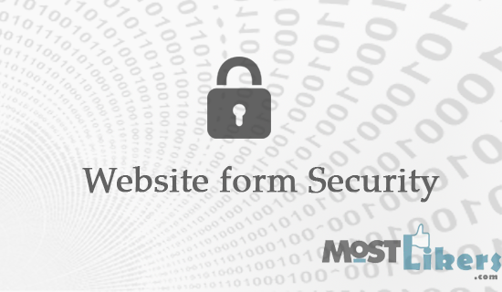 Providing Security to the website forms