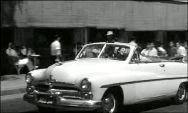 The Quiet American 1958 movieloversreviews.filminspector.com 1950 Mercury Convertible