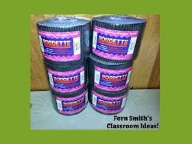 Fern Smith's Classroom Ideas Bulletin Board Trim Tips for Back to School.