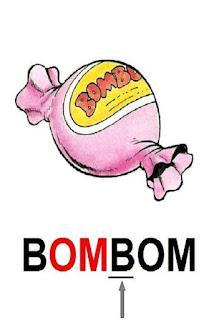 cartaz om de bombom