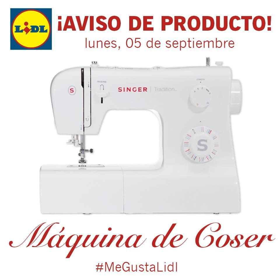 Tatadelacasa: Máquina de coser SINGER en LIDL y SORTEO