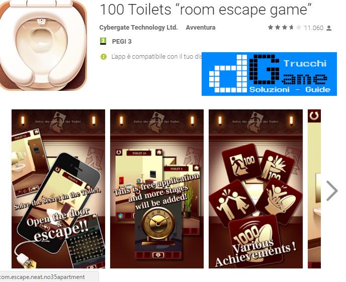 Soluzioni 100 Toilets livello 71 72 73 74 75 76 77 78 79 80 | Trucchi e  Walkthrough level