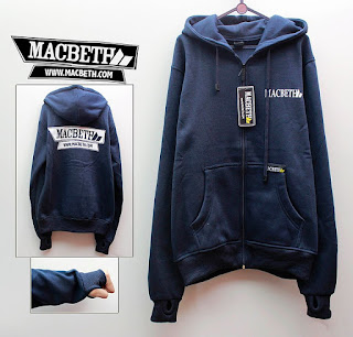 Jaket Fleece Hoodie Macbeth MAC001