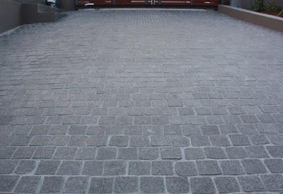 lantai batu kobel cobble stone jakarta