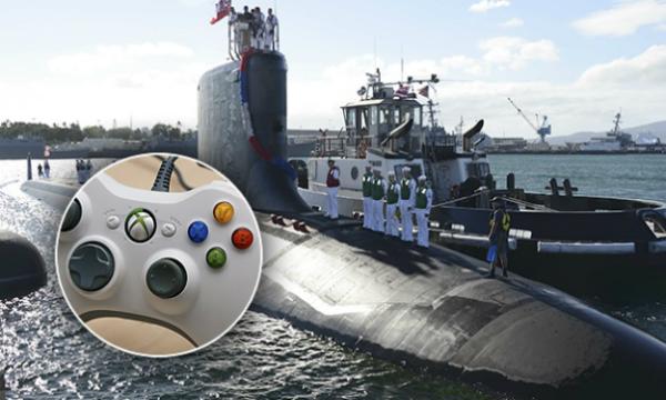 البحرية الأمريكية تستعمل وحدات تحكم Xbox 360 على متن إحدى غواصاتها!