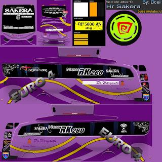 Download Livery Bus Po Haryanto Euro 4 Ungu