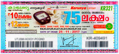 25-11-2017 kerala lottery result today karunya kr-321 www.keralalotteriesresults.in