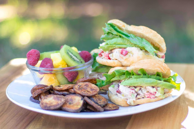 How to Make Mini Chicken Salad Sandwiches and Air Fryer Potato Chip Recipes