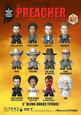 Preacher Television Series Titans Mini Figure Blind Box Series by Titan Merchandise