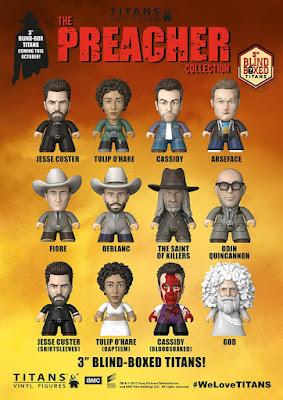 Preacher Television Series Titans Mini Figure Blind Box Series by Titan Merchandise